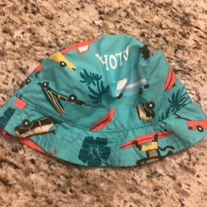 Baby sun hat 12 to 24 months Caters Aloha style